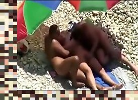 hidden cam beach sex public